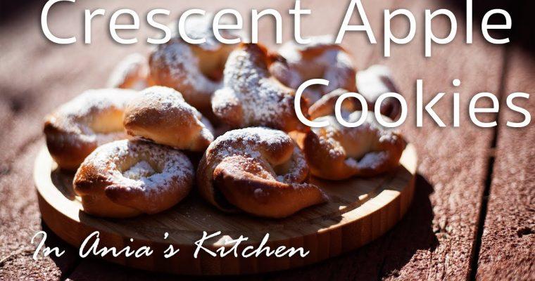 Crescent Apple Cookies – Rogaliki z Jablkiem – Recipe # 218