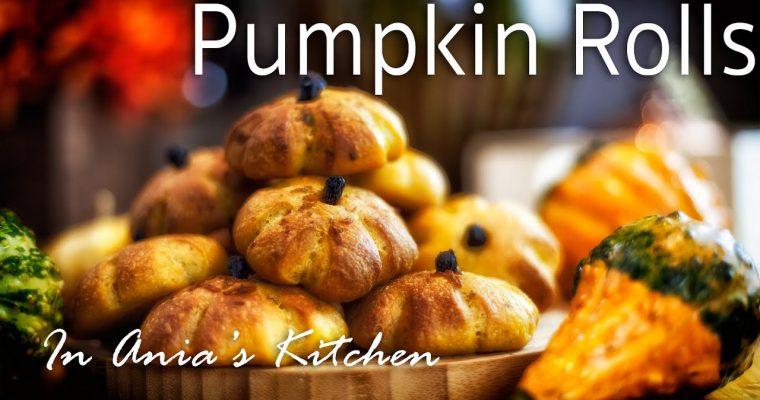 Pumpkin Bread Rolls – Buleczki Dyniowe – Recipe #222