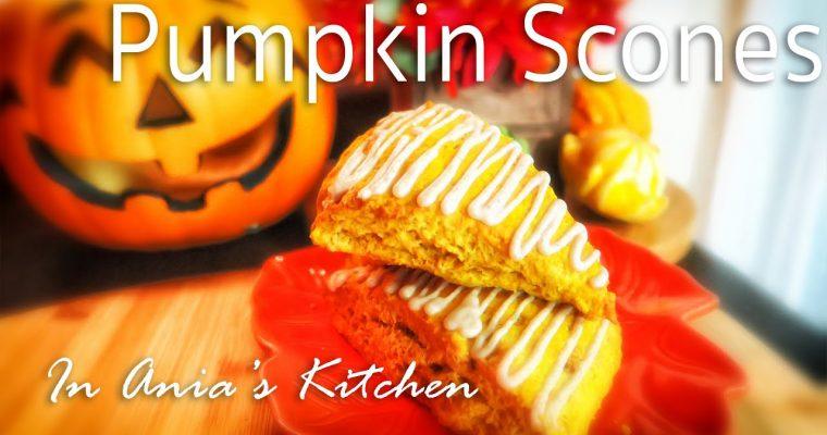 Pumpkin Scones – Rozki z Dyni – Recipe #221