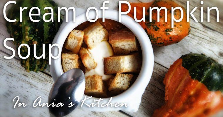 Cream of Pumpkin – Zupa Krem z Dyni – Recipe #225