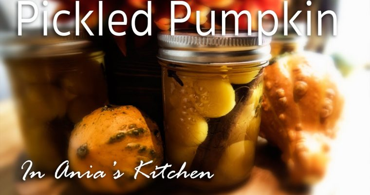 Pickled Pumpkin – Dynia Marynowana – Recipe #226