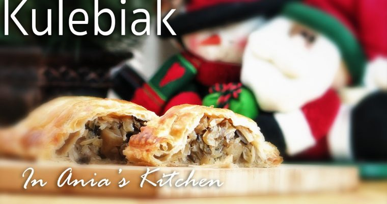Kulebiak with Cabbage and Mushrooms – Kulebiak z Kapusta i Grzybami Recipe #231