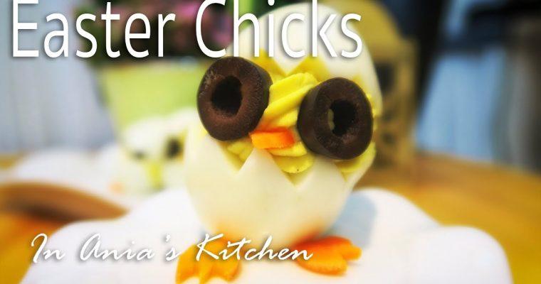 Easter Chicks Deviled Eggs – Jajeczne Kurczaczki Wielkanocne – Recipe #240