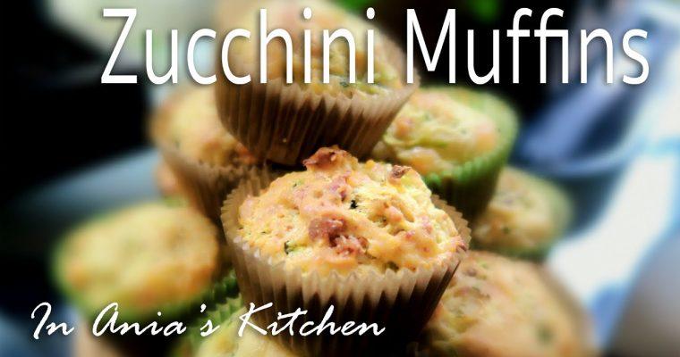 Zucchini Muffins – Babeczki z Cukinia – Recipe #245