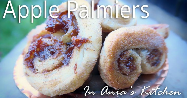 Apple Palmiers – Palmiery Jablkowe – Recipe #251