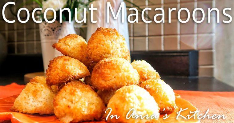 Coconut Macaroons – Kokosanki – Recipe #254