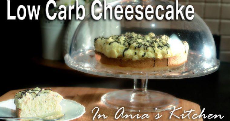 Low Carb Cheesecake – Sernik Niskoweglowodanowy – Recipe #263