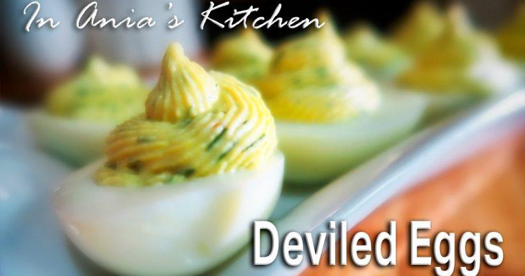 Smoked Salmon Deviled Eggs – Jajka Faszerowane Lososiem Wedzonym – Recipe #262