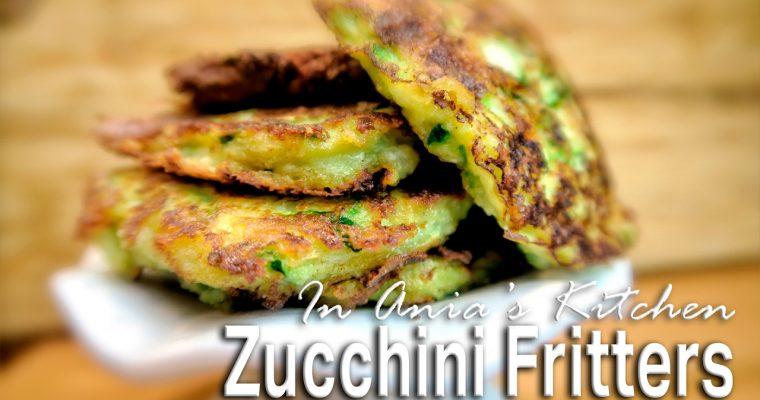 Zucchini Fritters Low Carb – Placki z Cukini Niskoweglowodanowe – Recipe #266