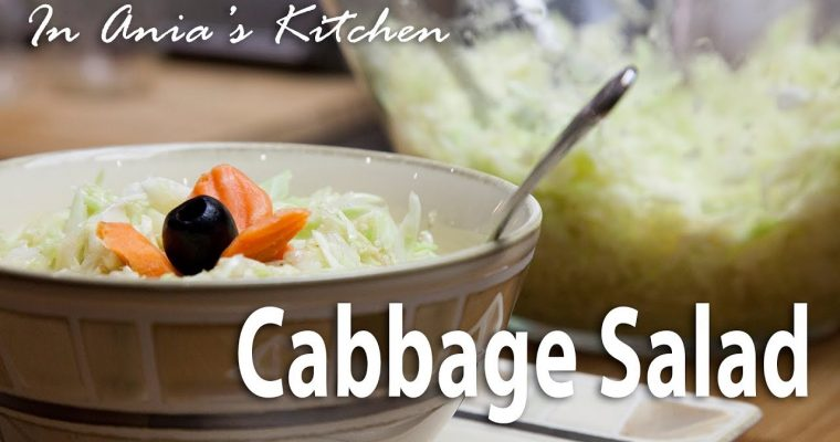 Cabbage Salad – Surówka z Kapusty – Recipe #286