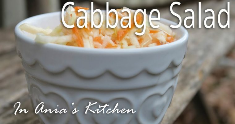 Cabbage Salad – Surowka z Kapusty – Recipe #242