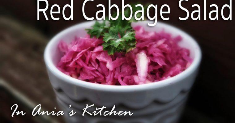 Red Cabbage Salad – Surowka z Czerwonej Kapusty – Recipe #247