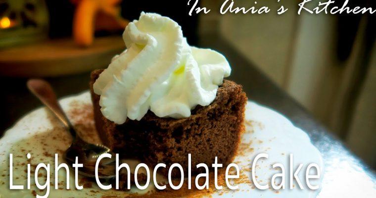 Light Chocolate Cake – Lekkie Ciasto Czekoladowe – Recipe #257