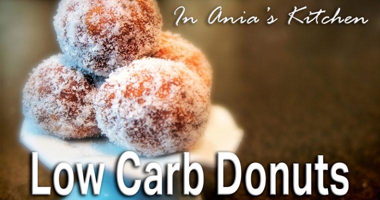 Low Carb Donuts – Pączki Niskowęglowodanowe – Recipe #268