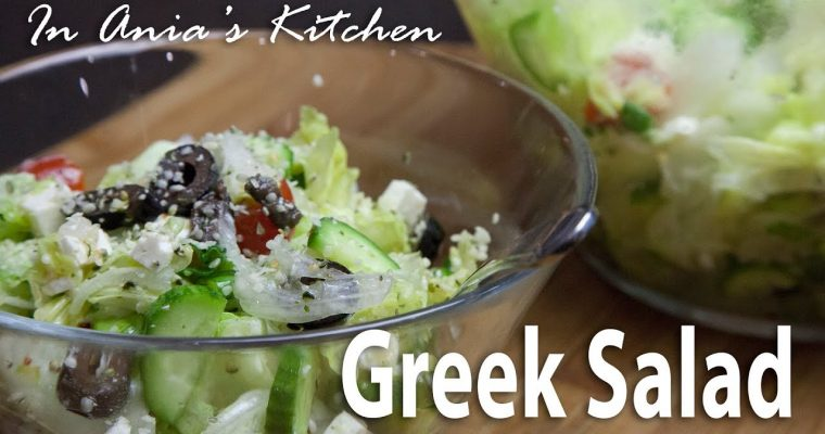Greek Salad – Salatka Grecka – Recipe #287