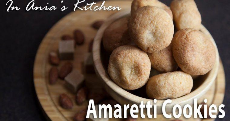 Amaretti Cookies – Ciasteczka Amaretti – Recipe #291